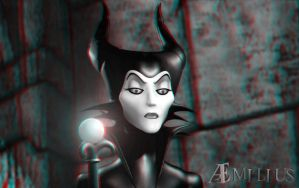 Maleficent (Stereoscopic) by aemiliuslives