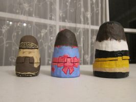Russian Nesting Dolls of Me -back- by italktotherain