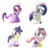 CMSF - Twilight Sparkle x Discord [CLOSED] by Pikadopts