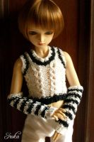 Vest with arm warmers by Sakachan