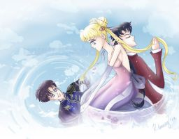 'Where You Are' Sailor Moon by RebeccaDell