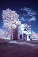 IR Lonely Church #2 by diev47