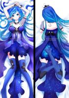 Dakimakura - Humanised Princess Luna by Daiyaku
