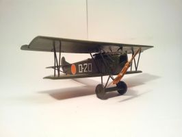 Dutch Fokker D.VII MLD 001 by BlokkStox