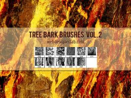 Tree Bark Brushes Vol. 2 by xara24