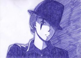 Guy with hat by Becky0109