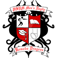 MSUM Men's Rugby Crest 1.0 by DrZurnPhD