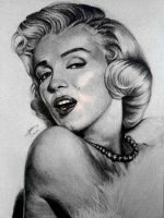 Marilyn Monroe by RainW-ish