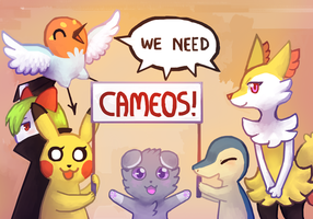 We need CAMEOS  by Flavia-Elric