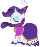 Lady Rarity by purplefairy456