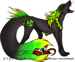 Tailmouth Adopt I OPEN by KawaiiMidnight