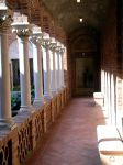 hall in the courtyard by serandipity