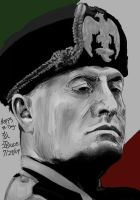 Happy Bday- Benito Mussolini by DragonInAPokeball072