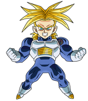 Super Trunks Ssj  Chibi|FacuDibuja by FacuDibuja