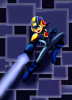 MegaMan NT Warrior by ForestRose7