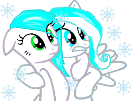 snow.. snow every were by SnowPony1234