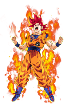 Goku Super Saiyan God 2 by BardockSonic