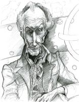 Vincent Price in Edward Scissorhands by Caricature80