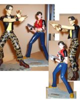 Steve and Claire Figurines by Sheenah
