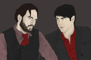 Grimm - Monroe and Nick by team-machine
