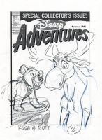 Brother Bear DA Cover V2 by tombancroft