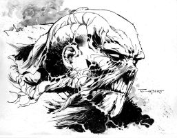 Swamp thing commission for Tom at I.E. comics by aethibert