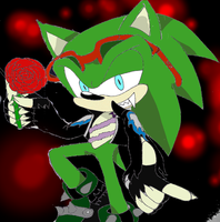 scourge the vampire by 4sonicfan