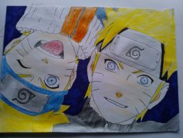Old and Young Naruto by TheKidPhotoshop
