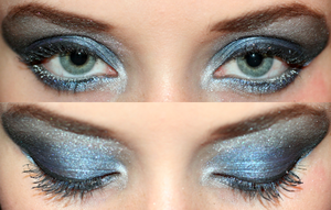 Spacey Eyeshadow Design by watermelonz