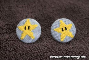 invincible star earrings by SongThread