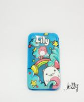 Blue Jelly Case by PoppinCustomArt