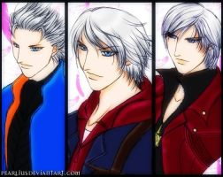 Descendants Of Sparda by pearlius
