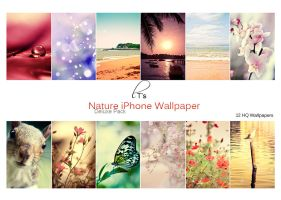 HQ Nature iPhone Wallpaper Deluxe Pack by Lady-Tori