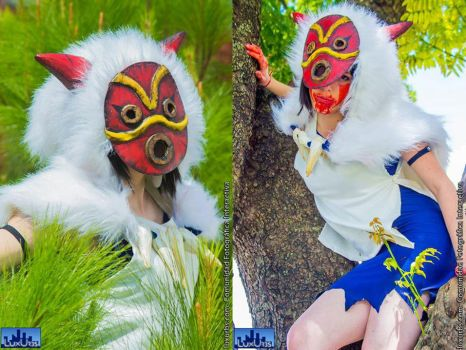 Princess Mononoke by CyanideKandies