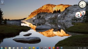 Windows 7 Desktop by ianmartinez97