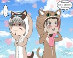 Little Hashi Bub and Grumpy Tobs by YumeSamasLover