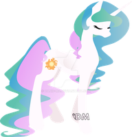 Princess Celestia by Danie-me