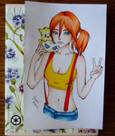 Misty from Pokemon by GR-the-queen
