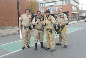 Who Ya Gonna Call, Ghost Busters Pose by Miss-Tbones