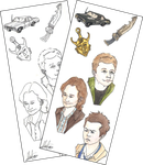 Supernatural Stickers by hatoola13