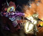 The Banshee Queen vs The Crusader of Zakarum by HrduiN