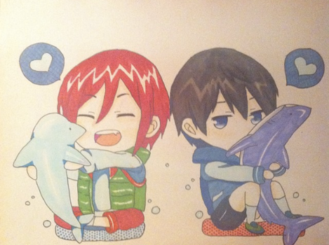 Cute Rinharu by rin-rose-art