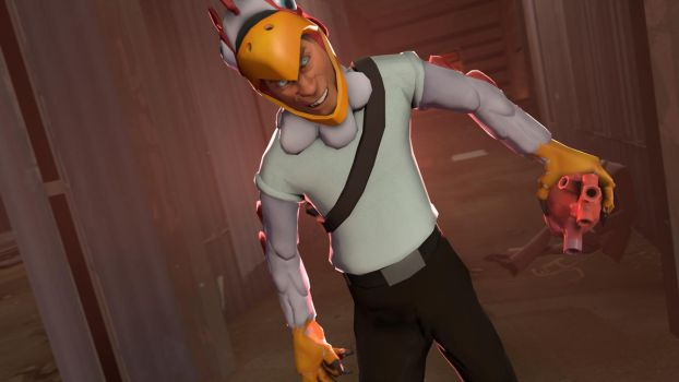 [SFM] CHICKEN LORD HAS GIFT FOR YOUUU.... by PeeriePeppermint