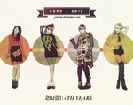 2NE1 - 4th Years WP by strdusts