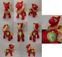 Talking Big Macintosh Plushie by makeshiftwings30