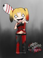 Harley Quinn - Arkham City - by Gisii06