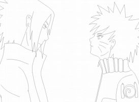 SasuNaru kiss animation by uzumaki00017