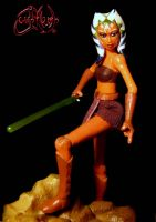 Ahsoka Tano with NO PANTS by jvcustoms