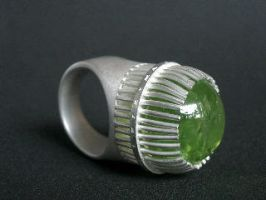 Ring for this Tourmaline by radiomaniac