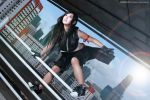 Tifa Lockhart Action Jump by vividplus